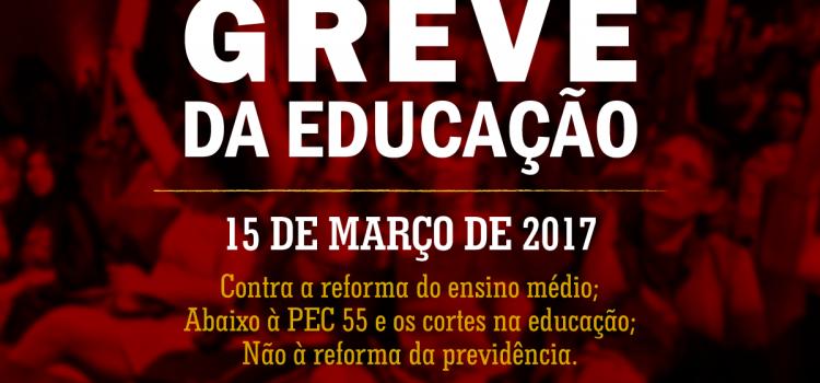 Greve da educação: Encontro de grêmios da UBES aprova, UJS esconde!