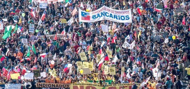 Chile e Argentina deram o tom: é na luta que combateremos os ataques!