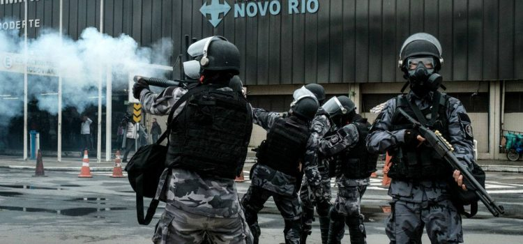 Nem o golpe e nem a repressão da PM irá parar nossa luta!