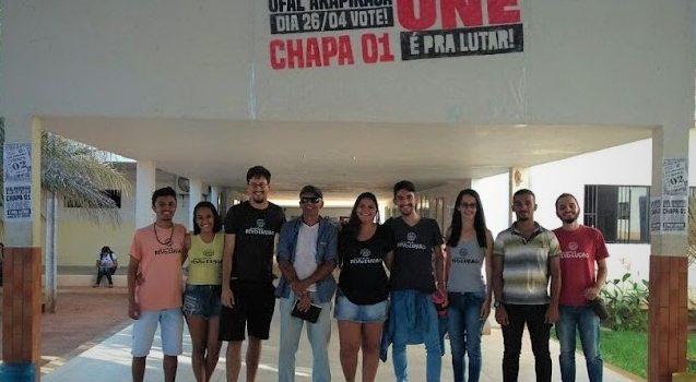 Em Arapiraca, a tese UNE é Pra Lutar elege seus delegados