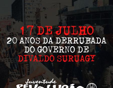 Documentário: A Rebelião Popular em Maceió – 17 de Julho