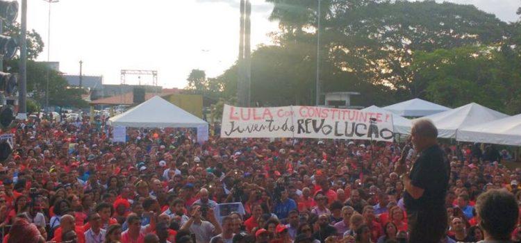 Lula inicia caravana pelo Nordeste e o Judiciário segue seu estado de exceção