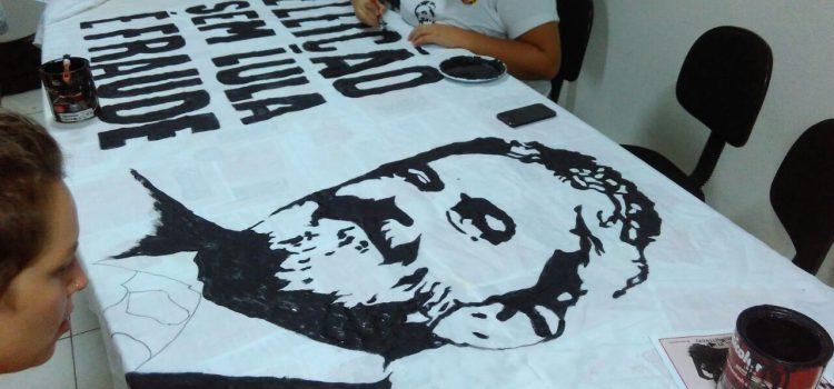 JR se prepara Caravana Lula em Floripa