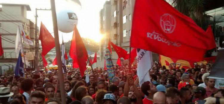 JR nos atos por Lula Livre!