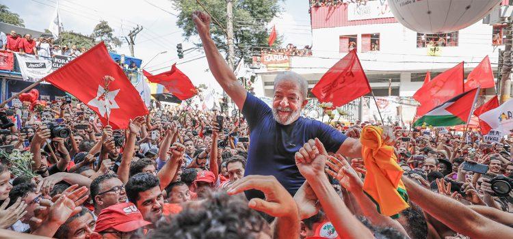Lula Livre! Eleição sem Lula é fraude!