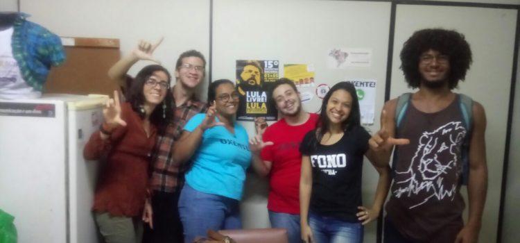 Tem mais mobilização na Bahia rumo ao 15º Encontro Nacional da JR!