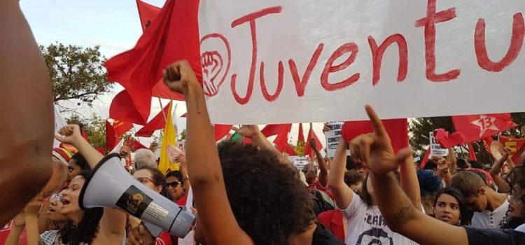 15/08 – Juventude Revolução presente no registro da candidatura Lula