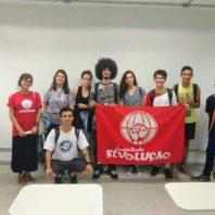 IF de Santos Dumont (MG) debate sobre educação! É Haddad com Constituinte!