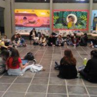 Estudantes de museologia paralisam em defesa do museu da UFSC