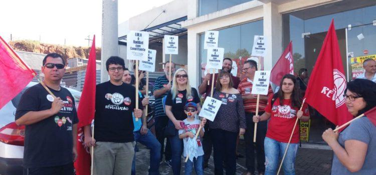 JR do PT participa de caminhada chamando VOTO 13 em Portão – RS