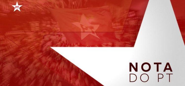 Nota do Partido dos Trabalhadores: Crueldade contra Lula