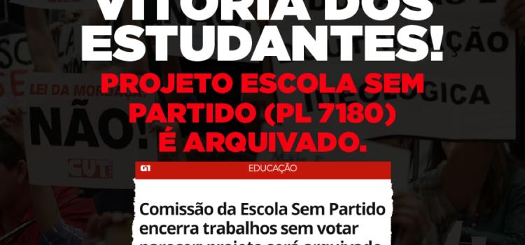 PL da mordaça vai ficar pra 2019. Vitoria dos estudantes e educadores brasileiros!