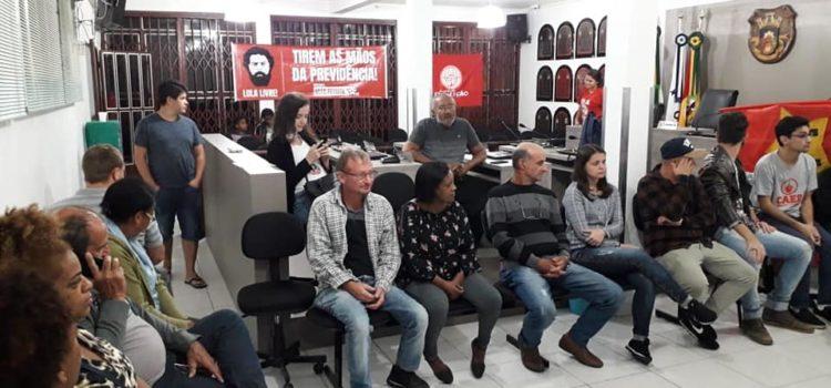 Plenária do PT em Portão – RS organiza a agenda de lutas