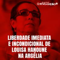 REDOBRAR OS ESFORÇOS NA LUTA PELA LIBERDADE DE LUISA HANUNE