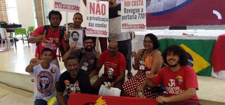 """""""Rui Costa, vou te dizer: privatizar não é coisa do PT!"""""""