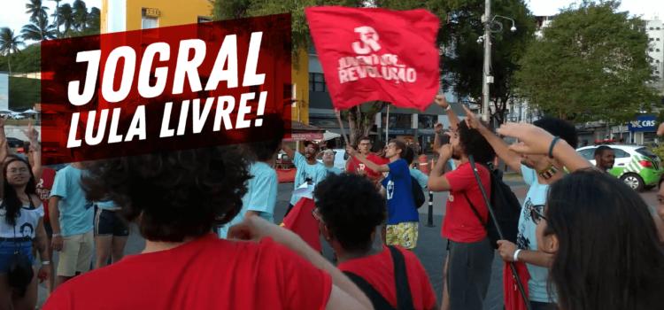 [VÍDEO] Jogral no Porto da Barra – Lula Livre