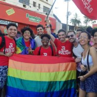 Parada da Diversidade Sexual ocorre em Cuiabá (MT)