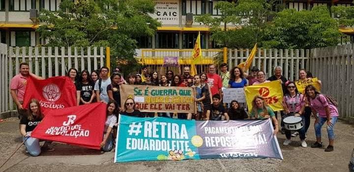 Resistência e greve no Rio Grande do Sul