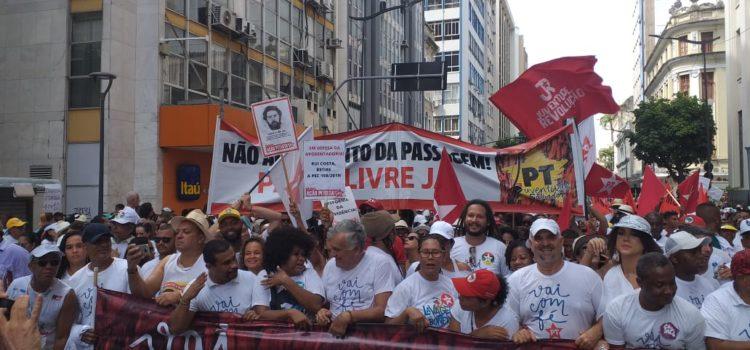 Na Lavagem do Bonfim a JRdoPT agita bloco petista e filia jovens ao PT