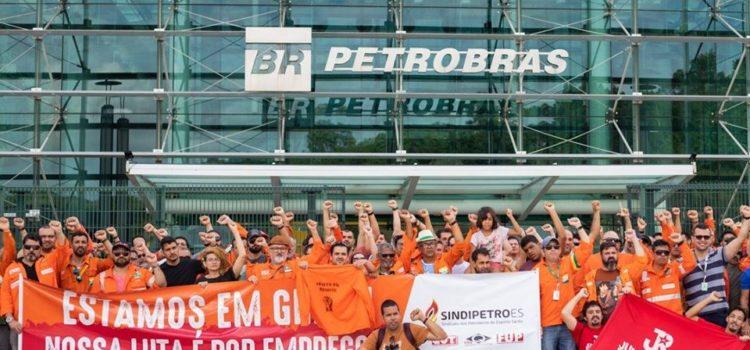 No Espirito Santo, JRdoPT se soma a luta dos petroleiros!