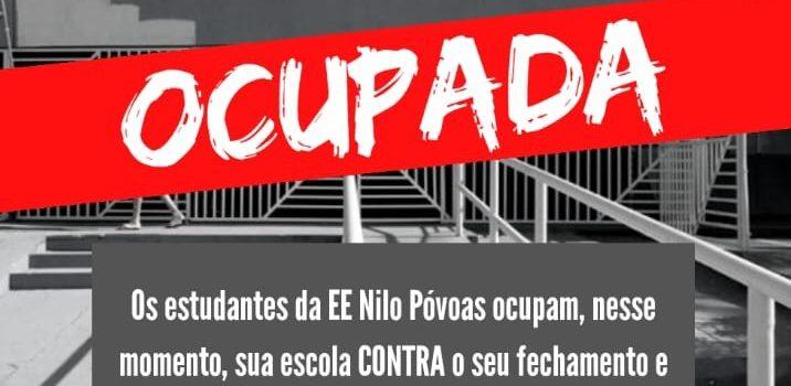 Estudantes ocupam contra fechamento da escola em Cuiabá